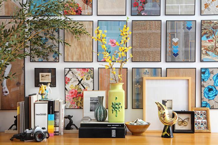 Apartamento en La Latina, Madrid: Salones de estilo  de Casa Josephine