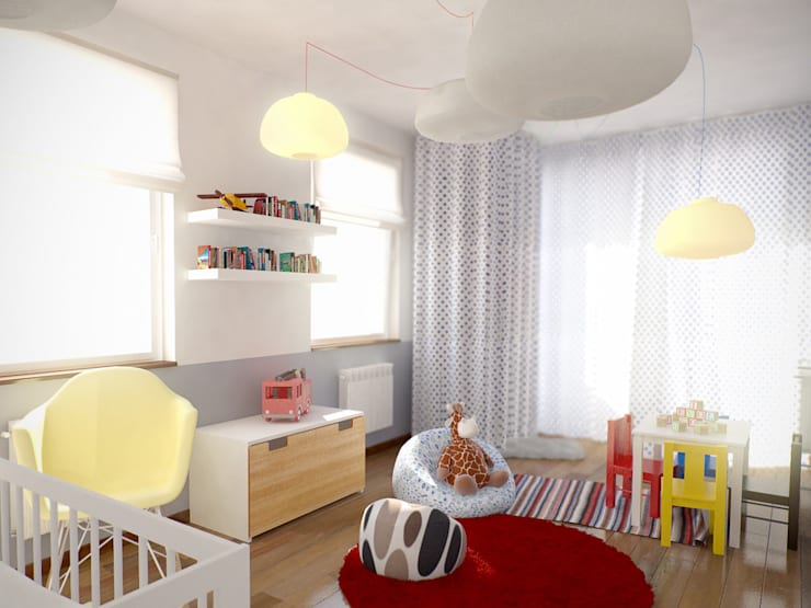 Pokój chłopca: styl , w kategorii Pokój dziecięcy zaprojektowany przez grupa KMK sp. z o.o