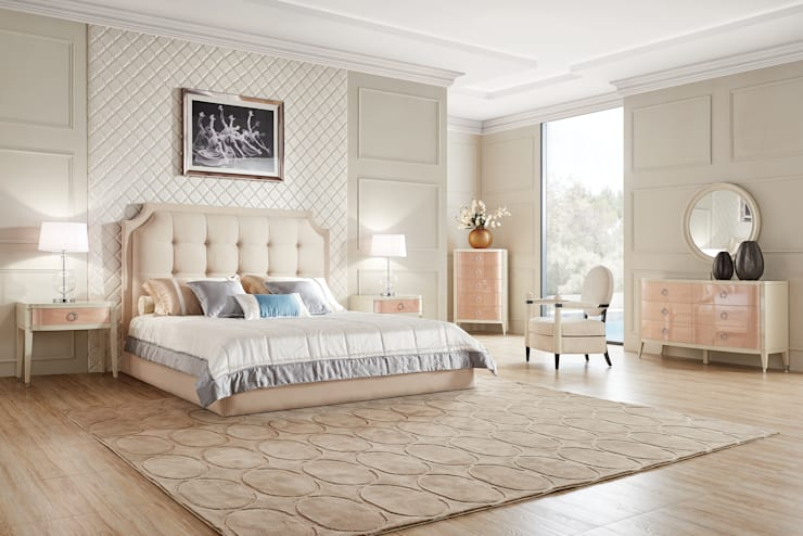 Спальня Modena: Спальни в . Автор – Neopolis Casa,