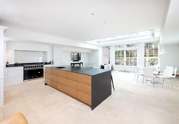 Cambrian Road: modern Kitchen by Green County Developments