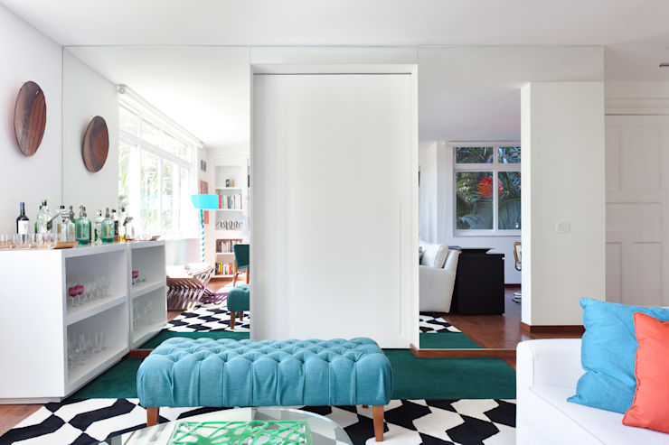 Suite Arquitetos:  tarz Yatak Odası