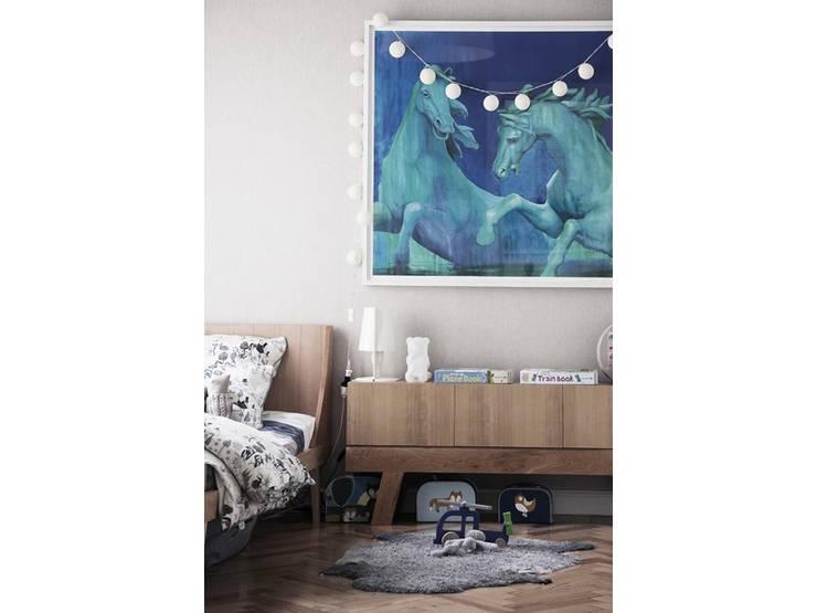 Muebles y decoración de dormitorios: Dormitorios infantiles  de estilo  por KRETHAUS