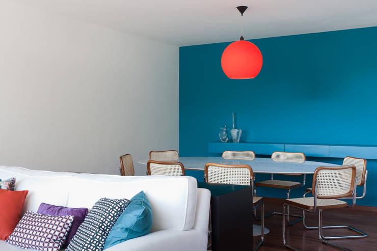Projeto Amauri: Salas de jantar  por Suite Arquitetos