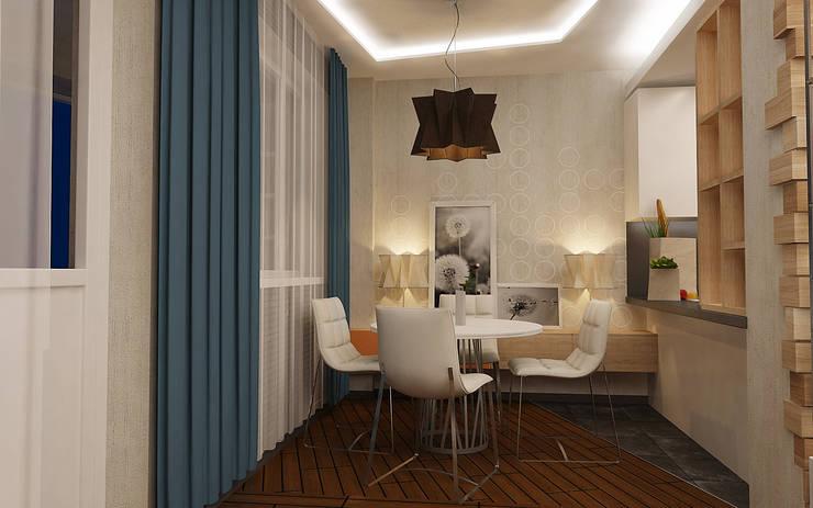 Обеденная зона: Столовые комнаты в . Автор – studio forma