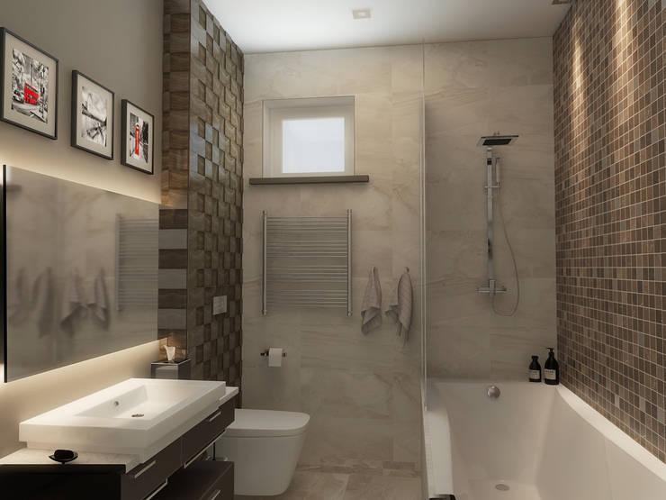 Ванная: Ванные комнаты в . Автор – studio forma