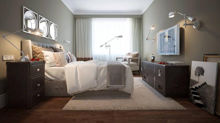 Квартира Skandi Klubb: Спальни в . Автор – KYD BURO