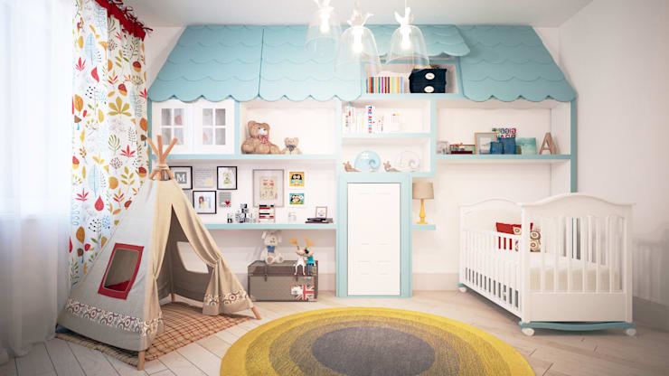 Nursery/kid's room by KYD BURO