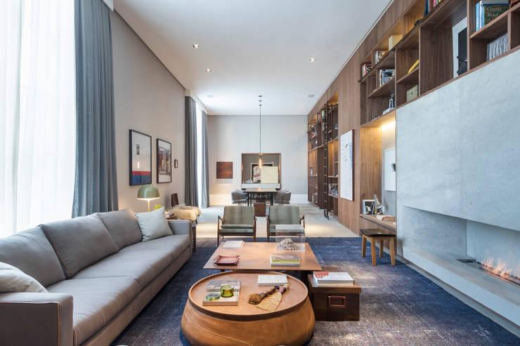 Casa Cor 2015: Centros de exposições  por Anexo Arquitetura ,