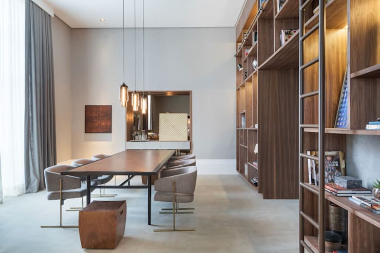 Casa Cor 2015: Centros de exposições  por Anexo Arquitetura ,Moderno