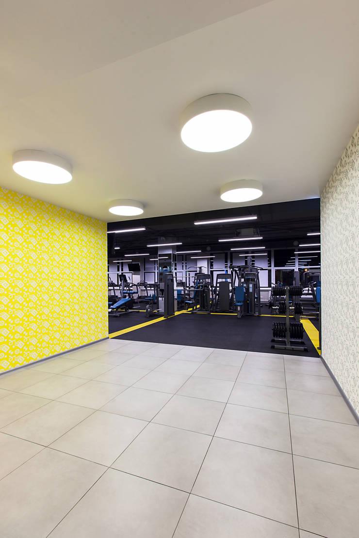Фитнес-клуб: Коммерческие помещения в . Автор – KYD BURO
