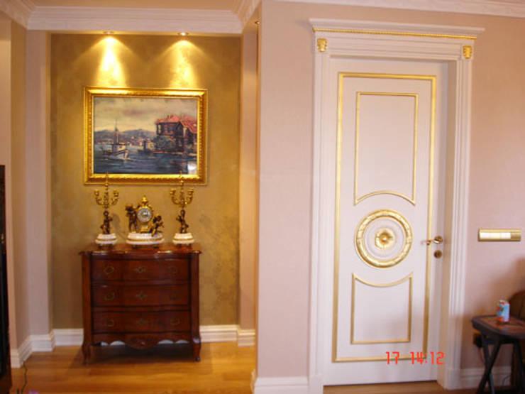 Pasillos, vestíbulos y escaleras de estilo moderno de AR-ES MİMARLIK TİCARET LTD STİ Moderno
