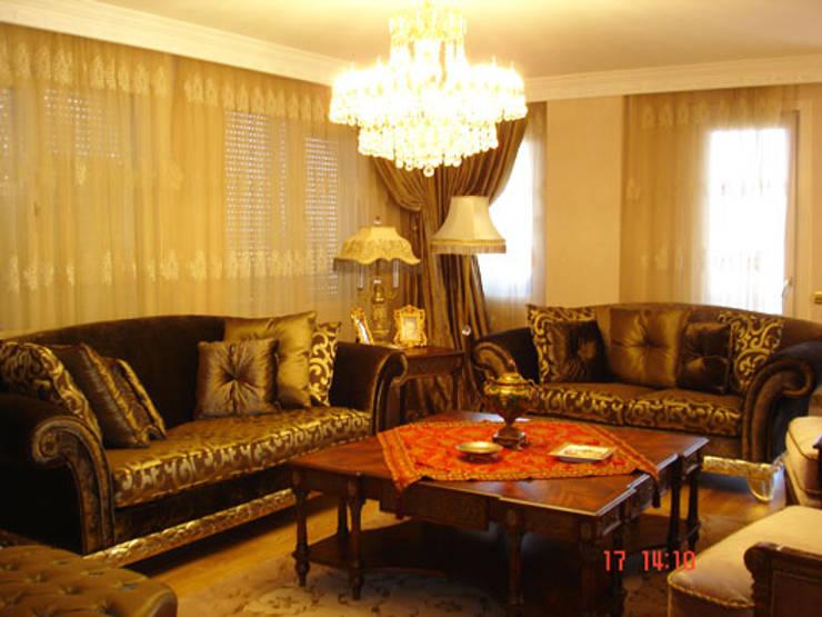 Salas de estilo moderno de AR-ES MİMARLIK TİCARET LTD STİ Moderno