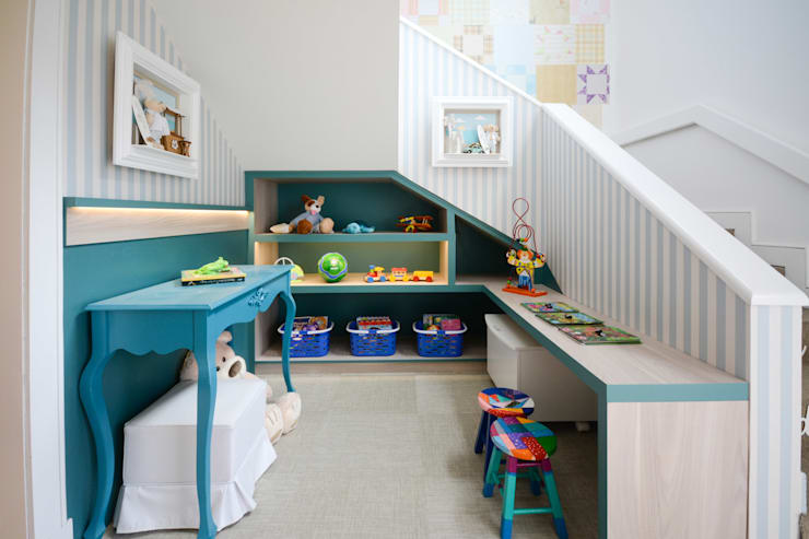 Bender Arquiteturaが手掛けた子供部屋
