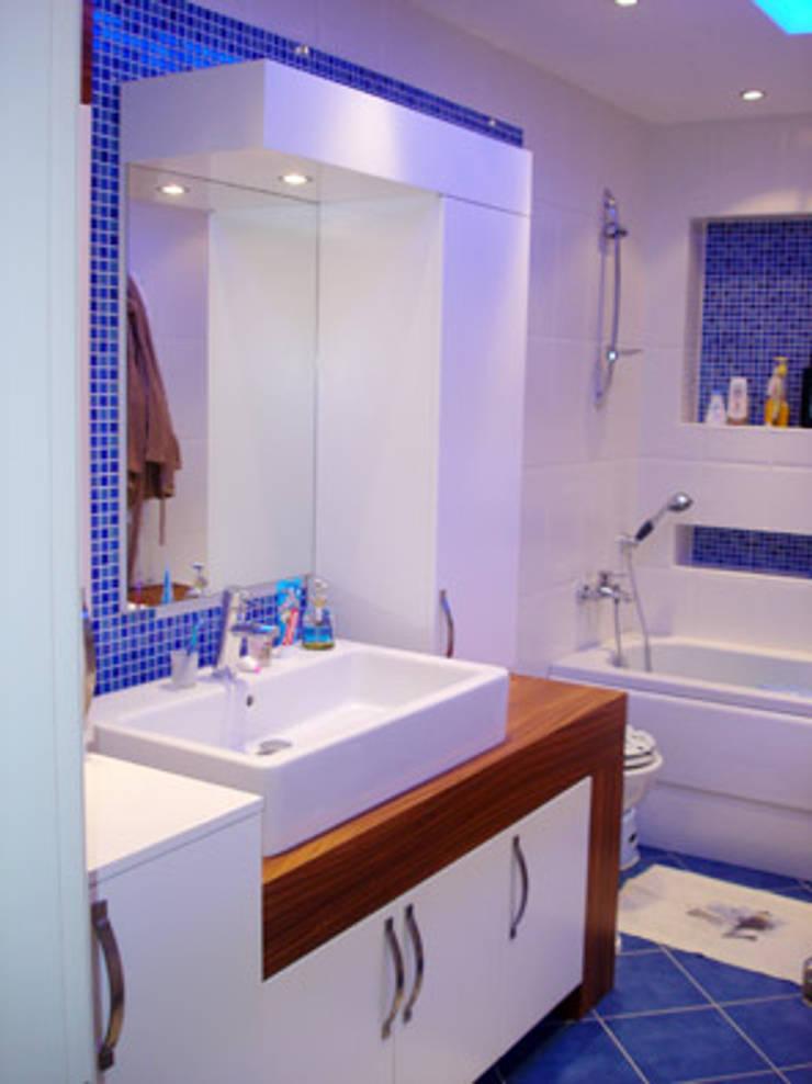 AR-ES MİMARLIK TİCARET LTD STİ – Çekmeköy Evi:  tarz Banyo