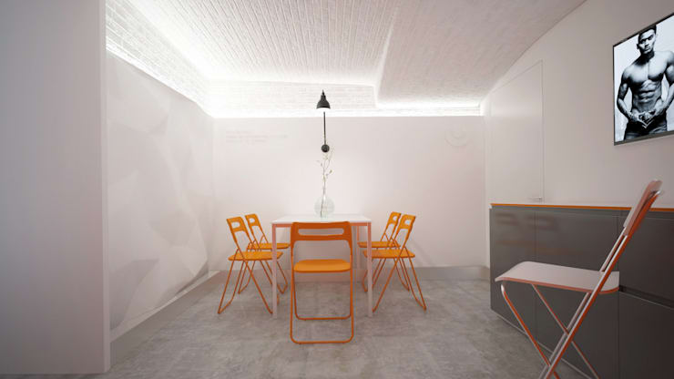 Oficinas y Tiendas de estilo  por KYD BURO, Minimalista