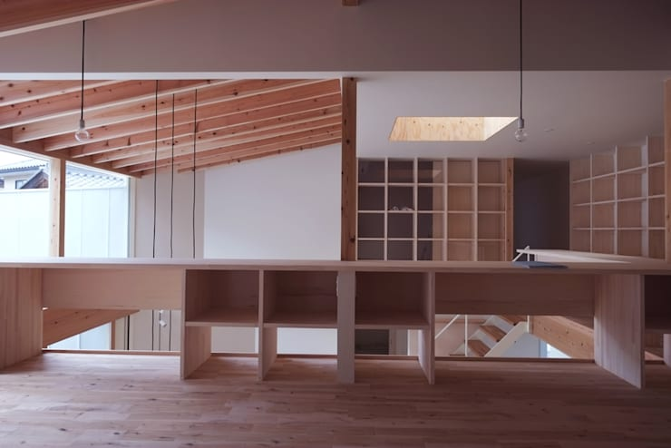 seep out: 建築設計事務所SAI工房が手掛けた子供部屋です。