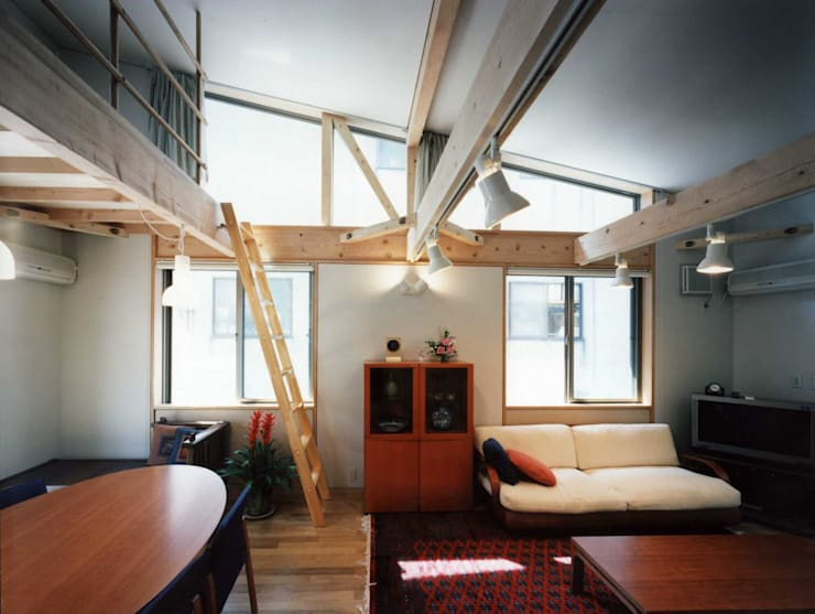 living room: H.Maekawa Architect & Associatesが手掛けたリビングです。,