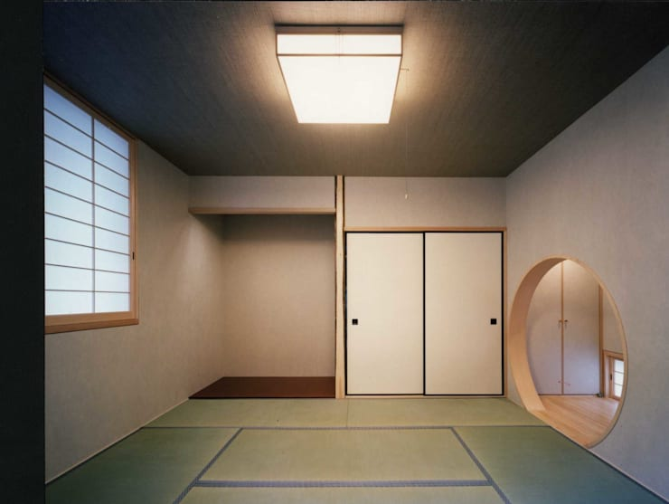 tatami room: H.Maekawa Architect & Associatesが手掛けた和室です。