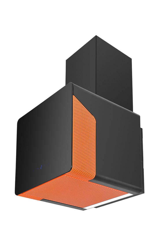 Okap Cube Neon : styl , w kategorii Kuchnia zaprojektowany przez Ciarko