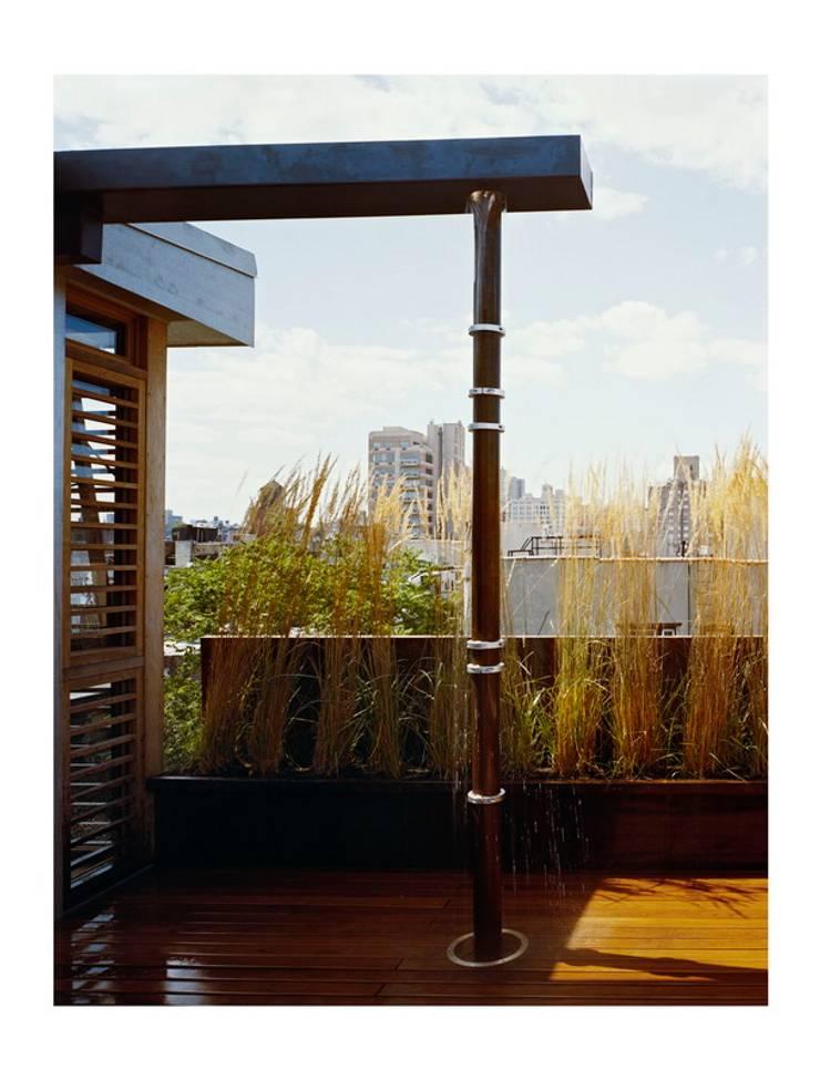 dolny manhattan penthouse: styl , w kategorii Taras zaprojektowany przez Zbigniew Winiarczyk ,