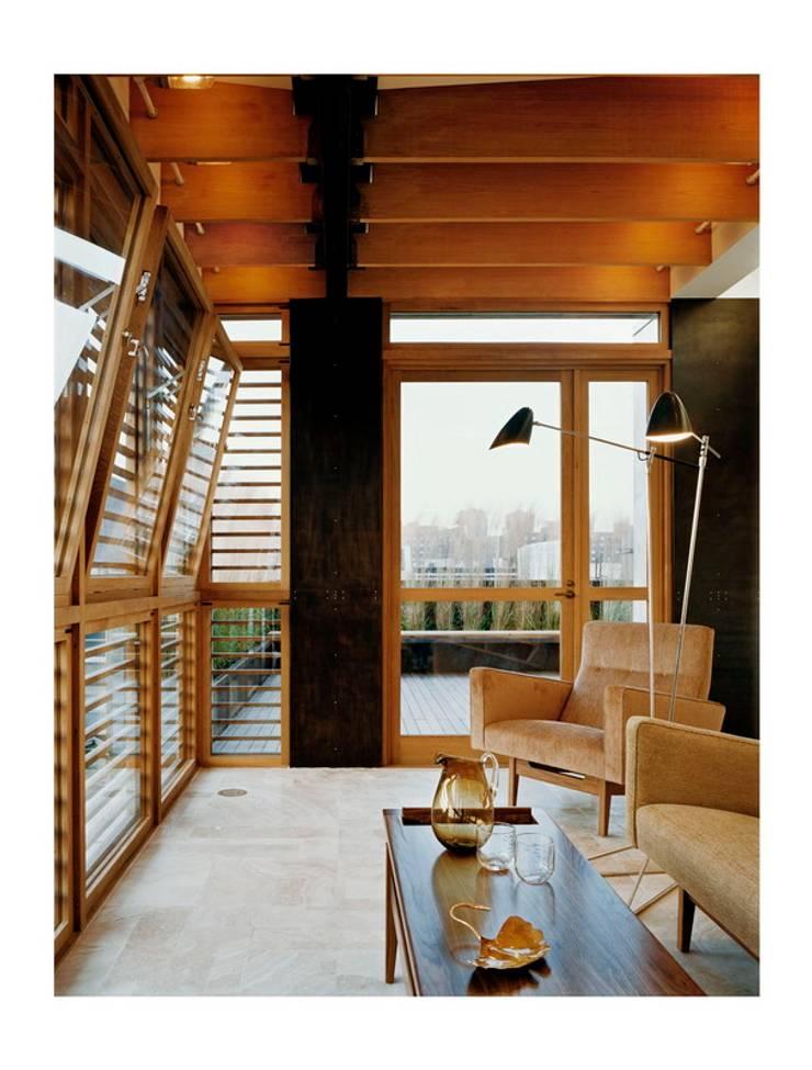 dolny manhattan penthouse: styl , w kategorii Salon zaprojektowany przez Zbigniew Winiarczyk ,