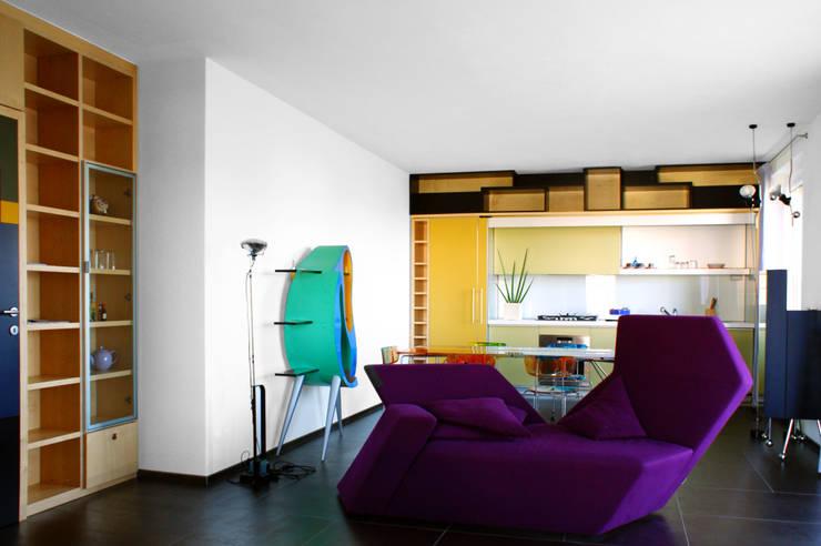 Salas de estar  por VANONCINI PIETRO & C SNC , Moderno