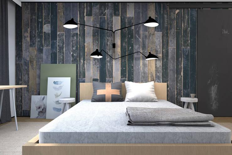 Комната для молодой семьи.: Спальни в . Автор – ИНТЕРЬЕР-ПРОЕКТ.РУ