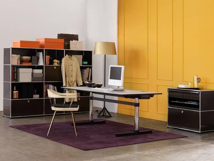 Wohnen mit USM:   von USM Möbelbausysteme,Klassisch