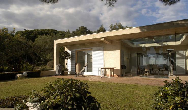 Maison B1: Maisons de style  par Vincent Coste Architecte