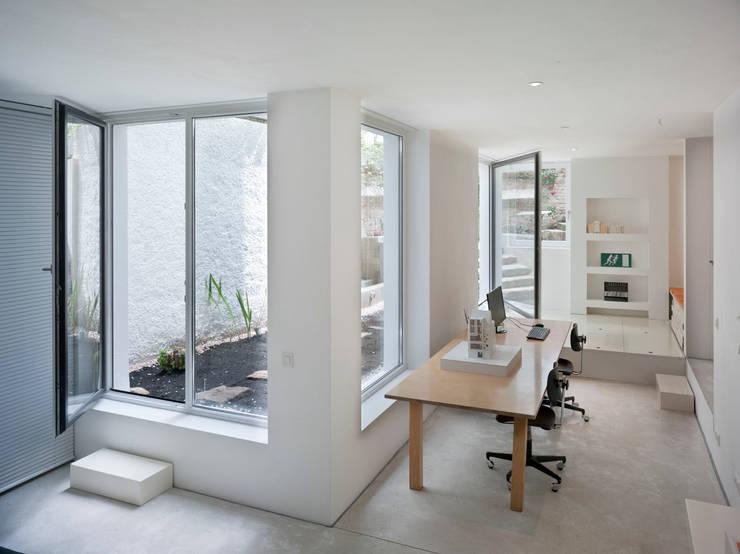 Arbeitsraum / Souterrain:  Arbeitszimmer von Marie-Theres Deutsch Architekten BDA
