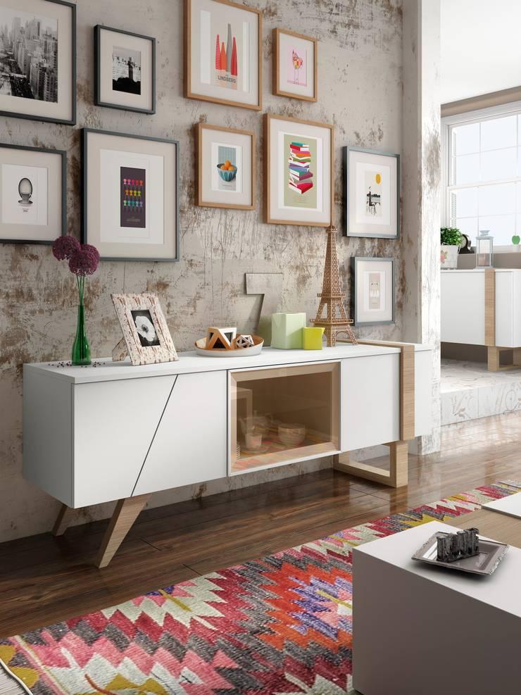 Aparador - Mueble Tv:  de estilo  de Estellé Home Megastore