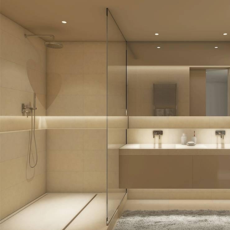 St Tropetz Bathroom: Bagno in stile  di Principioattivo Architecture Group Srl