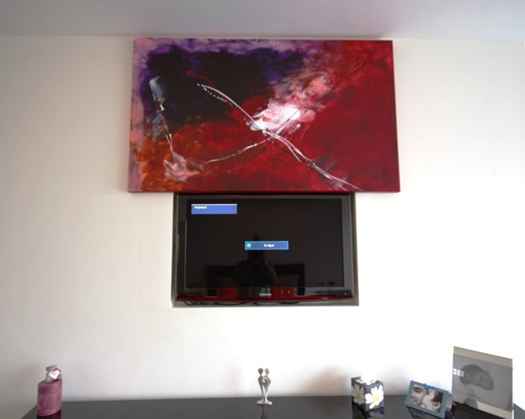 Picture lift:  Media room by Inspire Audio Visual