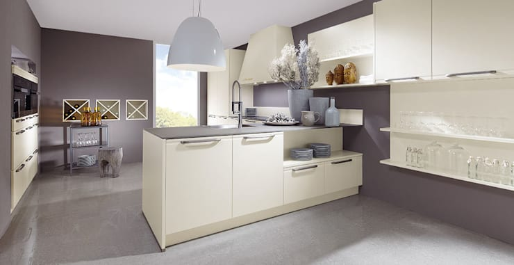 Smooth L20 - Bianco:  de style  par Schott Cuisines
