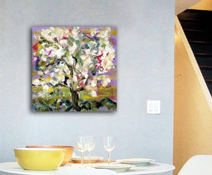 Almendro en flor:  de estilo  de GRECAR IDEA SL