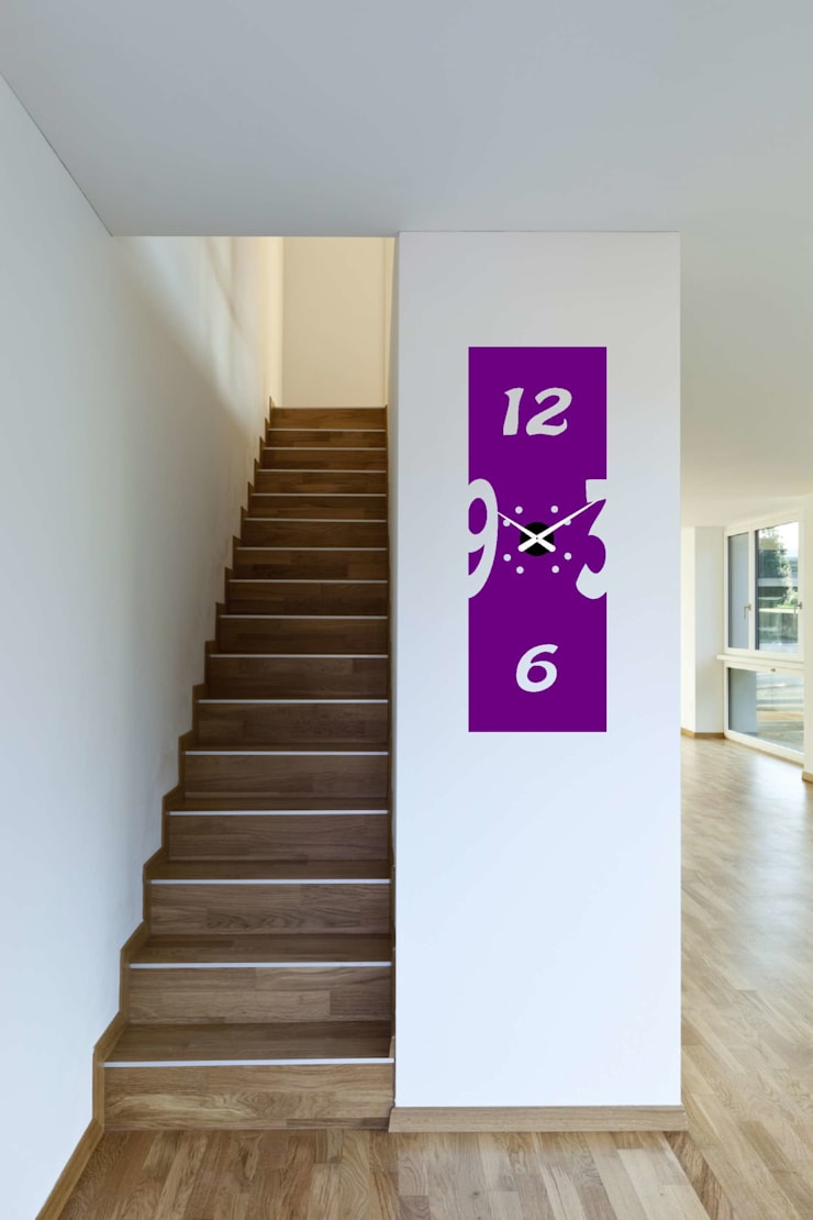 Reloj de pared :  de estilo  de relojesyvinilos