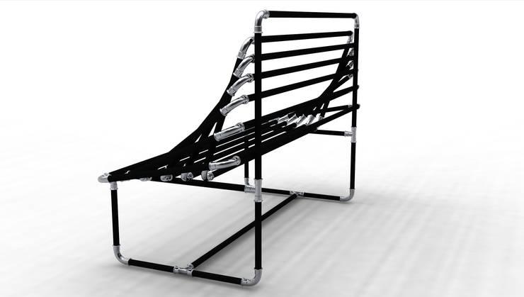 Grade: Soggiorno in stile in stile Moderno di Giacomo Giustizieri - Industrial Designer