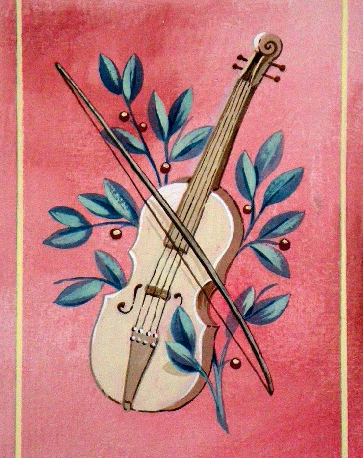 STANZA DELLA MUSICA:  in stile  di ITALIAN DECOR