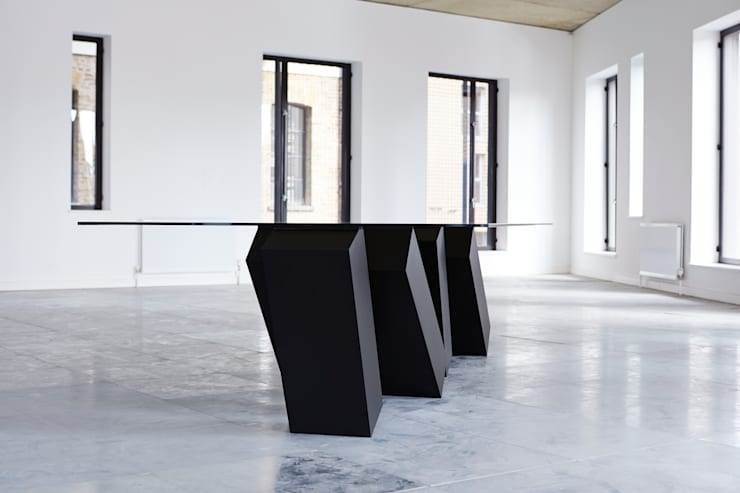 Megalith Table:  Dining room by Duffy London