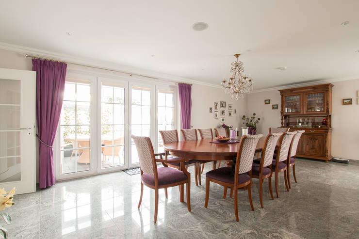 Franz & Köhler Immobilien GbR: modern tarz Yemek Odası