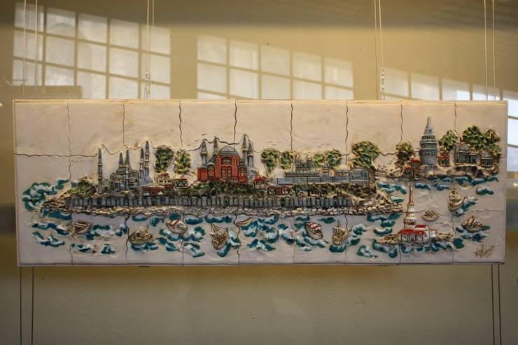 Ahmet Nejat Birdevrim – İstanbul Pano:  tarz Sanat