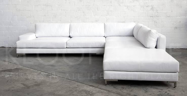 Designmöbel - Sofas: moderne Wohnzimmer von woodboxx | Thomas Maile