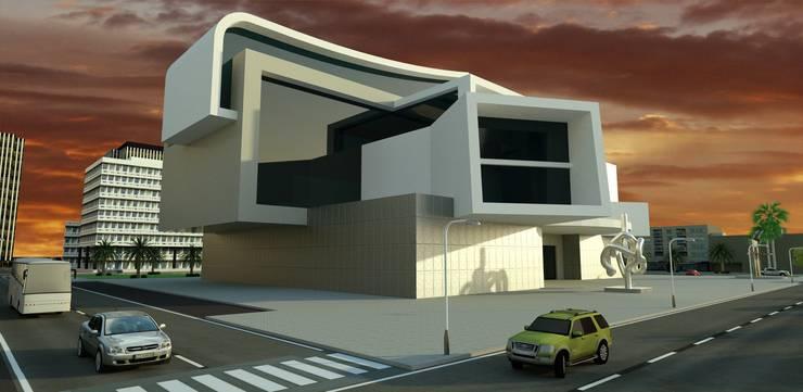 Museo del arte:  de estilo  de santacruz y asociados estudio de arquitectura