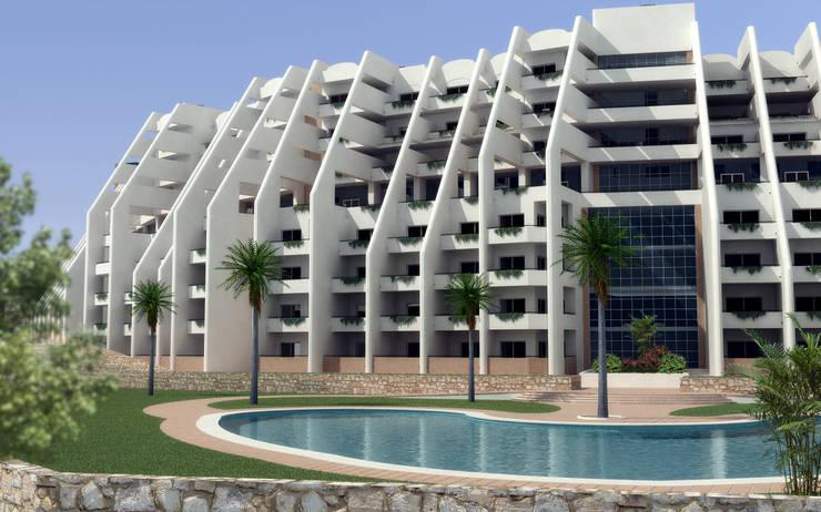 Hotel 5 estrellas:  de estilo  de santacruz y asociados estudio de arquitectura