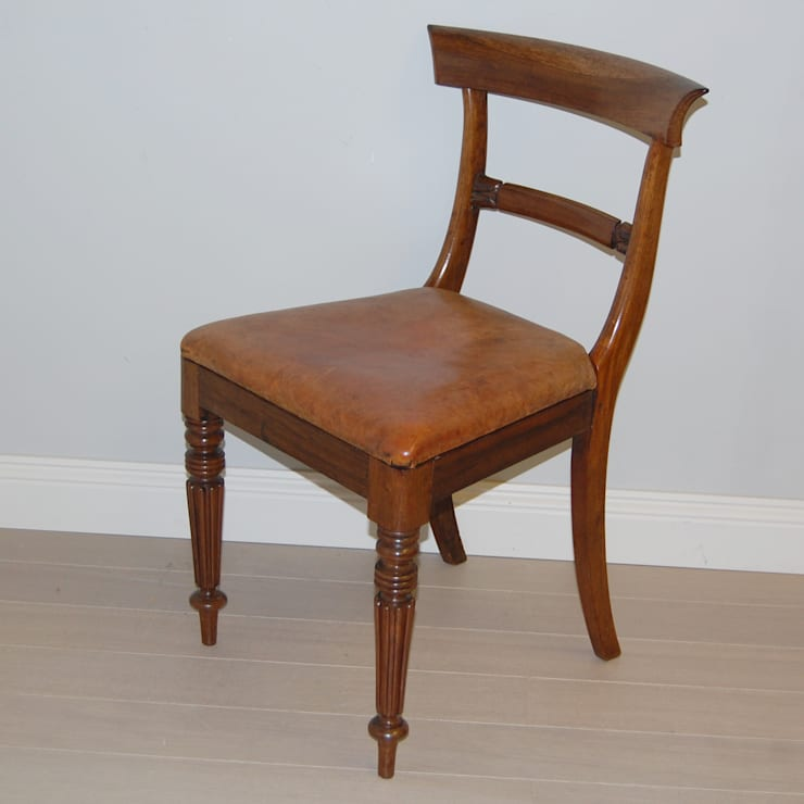 Rare set of 12 Regency dining chairs in rosewood:  Dining room by info332