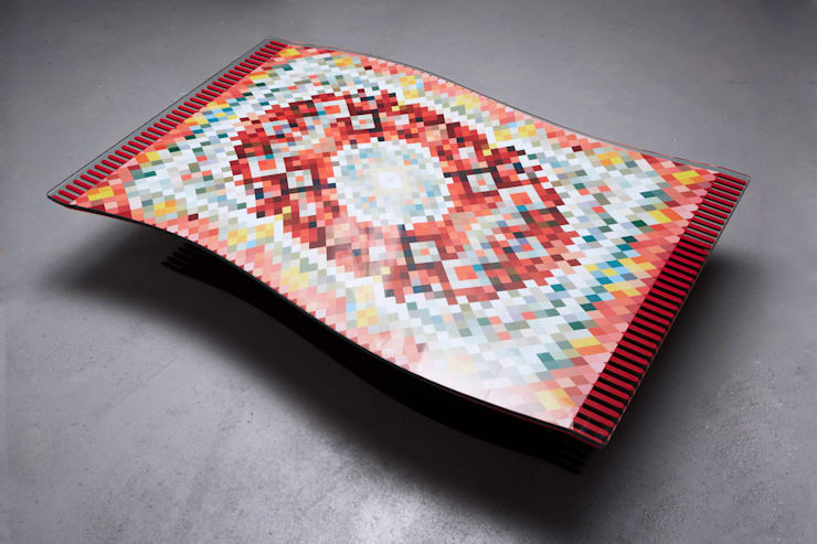 Flying Carpet Coffee Table:  Living room by Duffy London