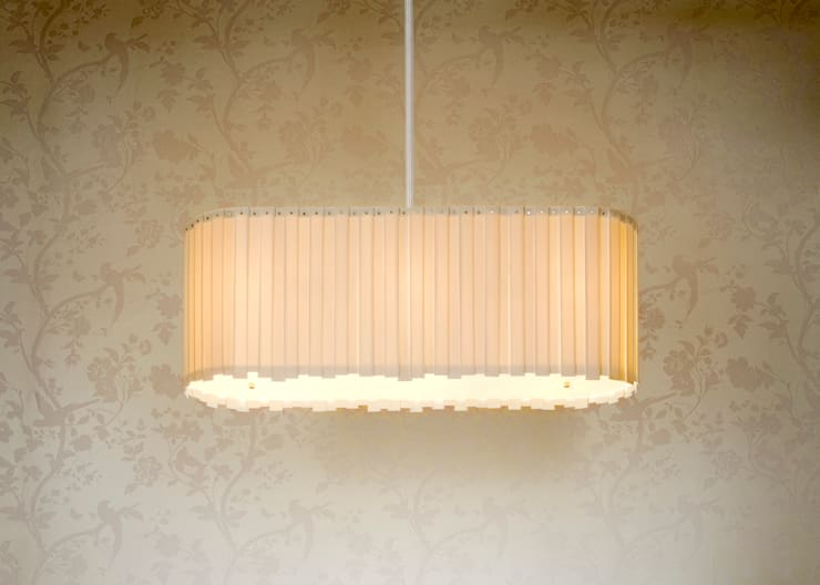 Andante Chandelier:  Living room by Boatswain Lighting