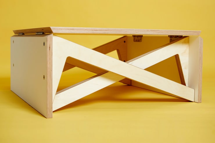 MK1 TRANSFORMING COFFEE TABLE WOOD:   by Duffy London