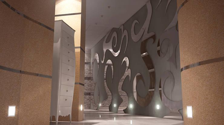 Corridoio : Ingresso & Corridoio in stile  di FRANCKSONN HOME srls