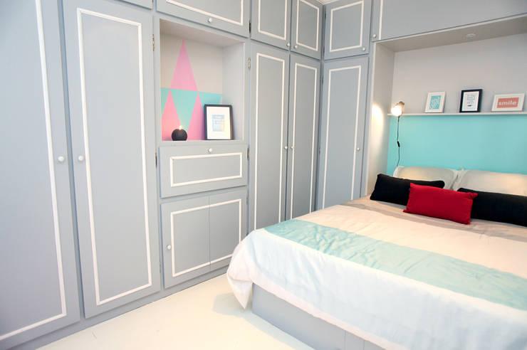 Chambre à coucher: Salon de style de style eclectique par Sandra Dages